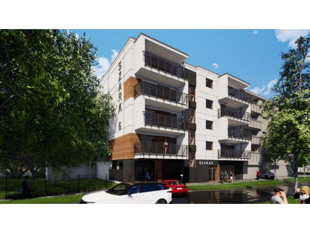 Morizon WP ogłoszenia | Mieszkanie w inwestycji Szara 6, Łódź, 109 m² | 3074