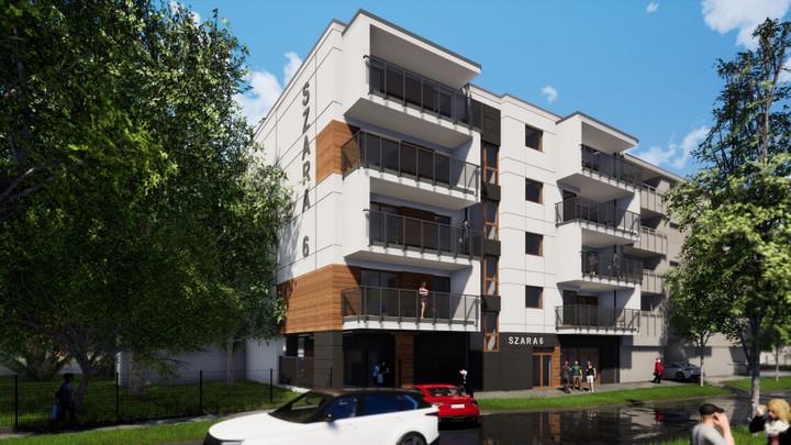 Morizon WP ogłoszenia | Nowa inwestycja - Szara 6, Łódź Górna, 51-108 m² | 8921