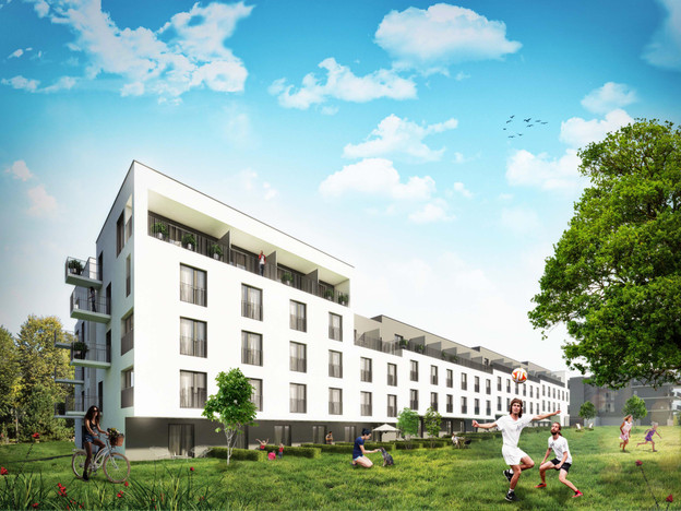 Morizon WP ogłoszenia | Mieszkanie w inwestycji Apartamenty Nowa Bonarka, Kraków, 61 m² | 9400
