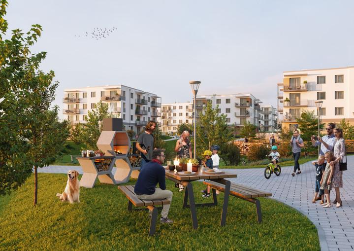 Morizon WP ogłoszenia | Nowa inwestycja - Zielony Południk, Gdańsk Orunia-Św. Wojciech-Lipce, 36-74 m² | 8145