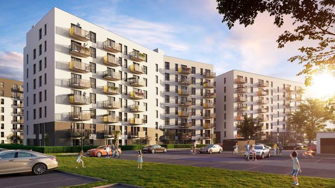 Morizon WP ogłoszenia | Mieszkanie w inwestycji Murapol Parki Krakowa, Kraków, 34 m² | 4561