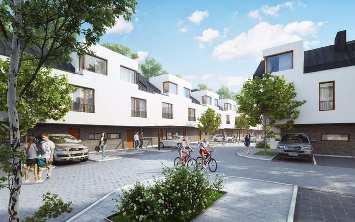 Morizon WP ogłoszenia | Nowa inwestycja - Cicha Łąka - segmenty, Józefosław ul. Cichej Łąki, 91-119 m² | 8351