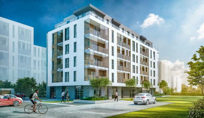 Morizon WP ogłoszenia | Mieszkanie w inwestycji Serce Zajezdni Wrzeszcz, Gdańsk, 63 m² | 8276