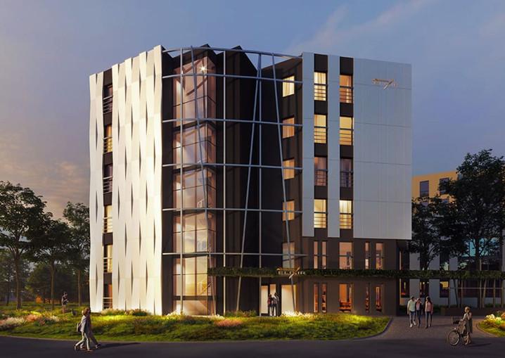 Morizon WP ogłoszenia | Nowa inwestycja - Elixir, Kraków Krowodrza, 46-57 m² | 8394