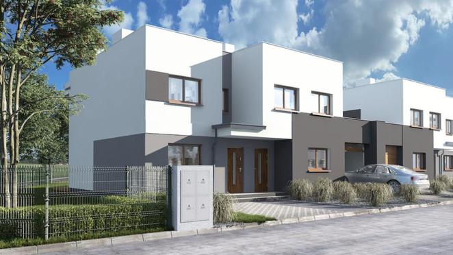 Morizon WP ogłoszenia | Dom w inwestycji Koninko - Domy szeregowe, Koninko, 87 m² | 2235