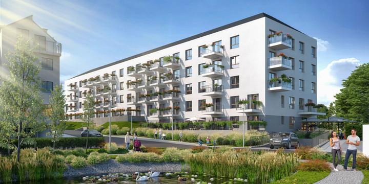Morizon WP ogłoszenia | Nowa inwestycja - Vivere Verde, Gdańsk Ujeścisko-Łostowice, 42-62 m² | 9419