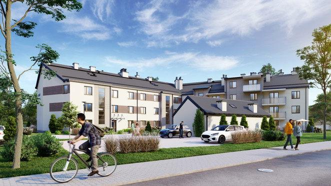 Morizon WP ogłoszenia | Mieszkanie w inwestycji Jagałły 34, Olsztyn, 44 m² | 2642