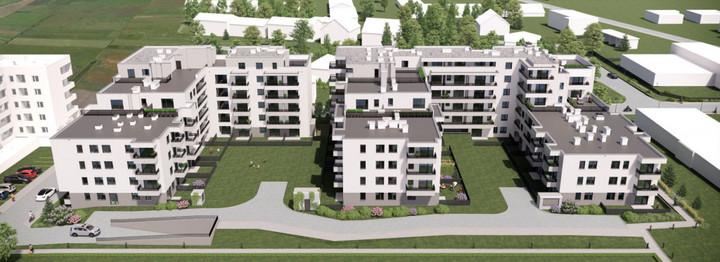 Morizon WP ogłoszenia | Nowa inwestycja - Skrajna - etap I, Ząbki ul. Skrajna, 33-99 m² | 9473