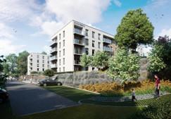 Mieszkanie w inwestycji Osiedle Leszczynowy Park, Gdańsk, 55 m²