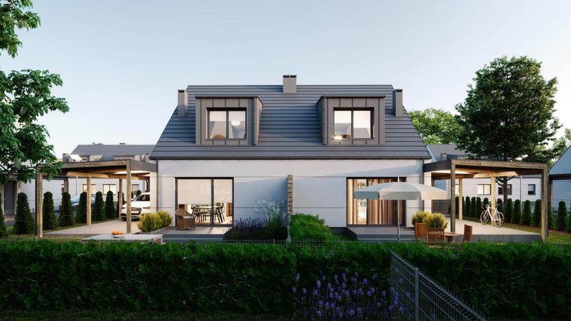 Dom w inwestycji Nowina I, Dachowa, 97 m²   Morizon.pl   5416