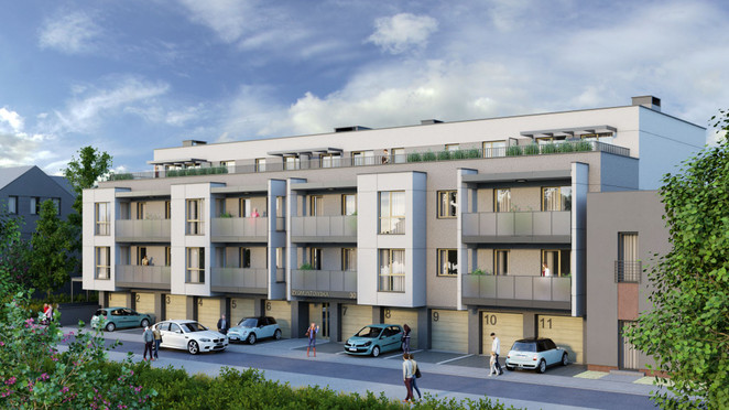 Morizon WP ogłoszenia | Mieszkanie w inwestycji Zygmuntowska 30, Kraków, 73 m² | 7748