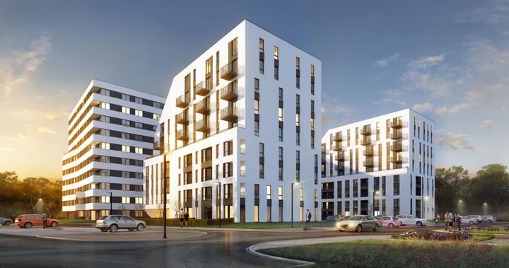 Morizon WP ogłoszenia | Nowa inwestycja - Piasta Park IV, Kraków Mistrzejowice, 30-77 m² | 9087