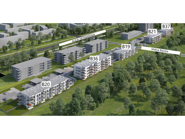Morizon WP ogłoszenia | Mieszkanie w inwestycji Mieszkania Hetmańska, Łódź, 58 m² | 9103