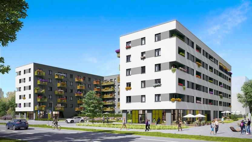 Mieszkanie w inwestycji City Vibe, Kraków, 41 m² | Morizon.pl | 2484