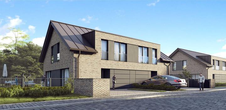 Morizon WP ogłoszenia | Nowa inwestycja - Zielone Osiedle, Łoziska, 148 m² | 9198