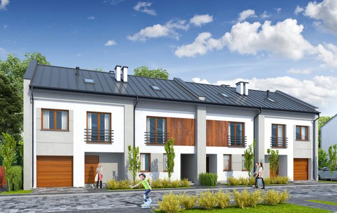 Morizon WP ogłoszenia | Dom w inwestycji Zielona Aleja etap II, Radzymin, 86 m² | 2714