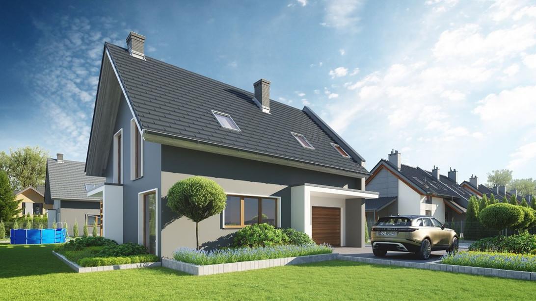 Nowa inwestycja - dom130+, Zielonki | Morizon.pl