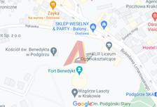 Działka na sprzedaż, Kraków Podgórze, 356 m²