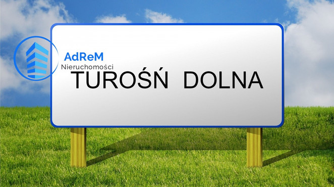 Morizon WP ogłoszenia | Działka na sprzedaż, Turośń Dolna, 900 m² | 6671