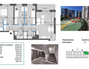 Mieszkanie na sprzedaż, Kraków Mistrzejowice, 82 m²
