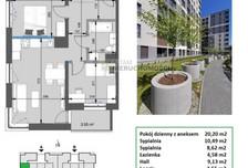 Mieszkanie na sprzedaż, Kraków Mistrzejowice, 54 m²