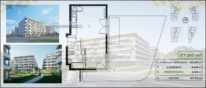Morizon WP ogłoszenia | Mieszkanie na sprzedaż, Kraków Os. Prądnik Biały, 28 m² | 6536