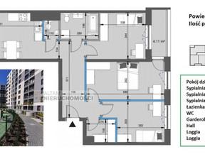Mieszkanie na sprzedaż, Kraków Mistrzejowice, 88 m²
