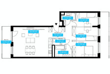 Mieszkanie w inwestycji Wola, ul. Ordona, Warszawa, 99 m²