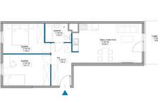 Mieszkanie w inwestycji Mokotów, ul. Kłobucka, Warszawa, 59 m²