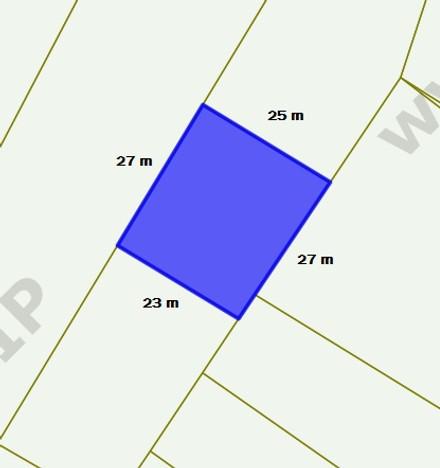 Działka na sprzedaż, Rybnik Zamysłów, 674 m² | Morizon.pl | 8112