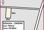Morizon WP ogłoszenia | Działka na sprzedaż, Zwierki, 1186 m² | 4745
