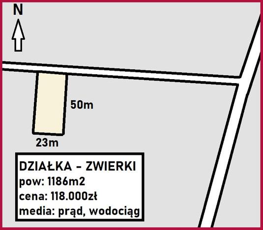 Działka na sprzedaż, Zwierki, 1186 m² | Morizon.pl | 8785
