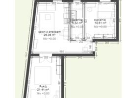 Morizon WP ogłoszenia   Mieszkanie na sprzedaż, Kraków Krowodrza, 70 m²   8072