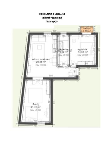 Morizon WP ogłoszenia | Mieszkanie na sprzedaż, Kraków Krowodrza, 70 m² | 8072