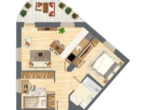 Mieszkanie w inwestycji Słowackiego 77, Gdańsk, 54 m²