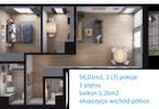 Morizon WP ogłoszenia | Mieszkanie na sprzedaż, Warszawa Gocław, 56 m² | 7012