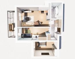 Morizon WP ogłoszenia | Mieszkanie na sprzedaż, Sosnowiec Sielec, 54 m² | 8433