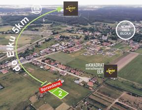 Działka na sprzedaż, Nowa Wieś Ełcka, 1080 m²