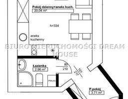 Morizon WP ogłoszenia   Kawalerka na sprzedaż, Bydgoszcz Bartodzieje-Skrzetusko-Bielawki, 27 m²   4437