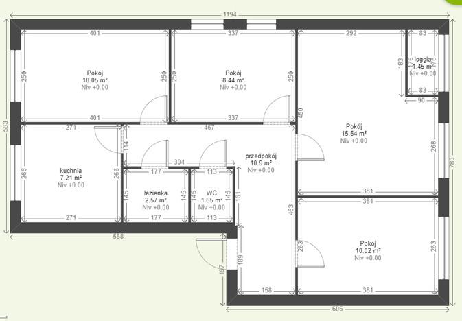 Mieszkanie na sprzedaż, Wrocław Os. Psie Pole, 63 m²   Morizon.pl   8011