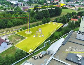 Działka na sprzedaż, Rzeszów Zawiszy Czarnego, 4500 m²