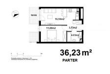 Mieszkanie na sprzedaż, Kraków Bieżanów-Prokocim, 36 m²