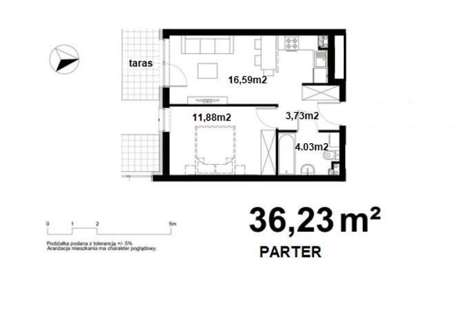 Morizon WP ogłoszenia | Mieszkanie na sprzedaż, Kraków Bieżanów-Prokocim, 36 m² | 2897