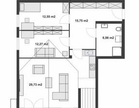 Mieszkanie na sprzedaż, Łódź Chojny, 77 m²