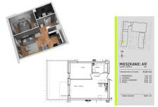 Mieszkanie na sprzedaż, Łódź Teofilów, 46 m²