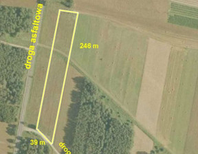 Działka na sprzedaż, Ostrów Warcki, 6813 m²