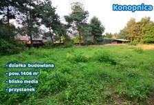 Działka na sprzedaż, Konopnica, 1406 m²
