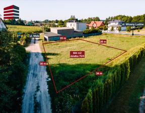 Działka na sprzedaż, Kokoszki Wiosny Ludów, 684 m²