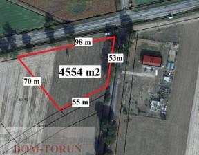 Działka na sprzedaż, Golub-Dobrzyń, 4554 m²