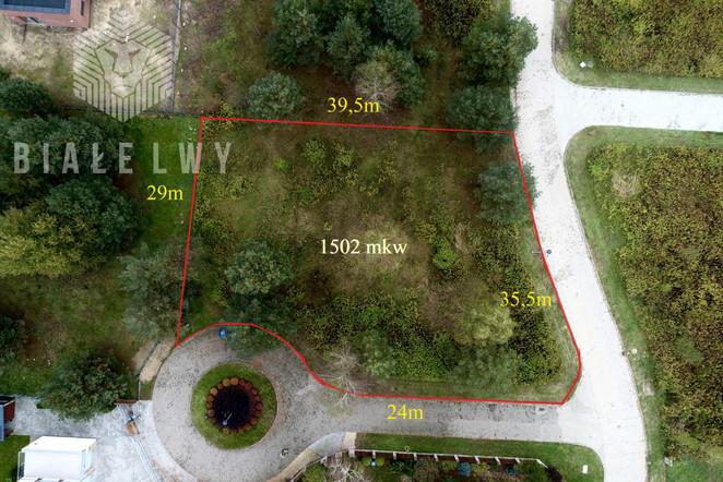 Morizon WP ogłoszenia | Działka na sprzedaż, Lipków Jana Skrzetuskiego, 1502 m² | 6729